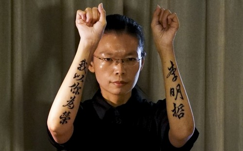 A Taiwanese democracy activist is sent to prison in China for his social media activity