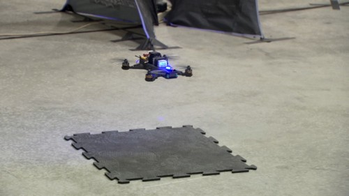 An autonomous racing drone that can (almost) beat a human