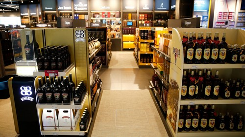 For most Indian travellers, the duty-free alcohol store is the dream destination