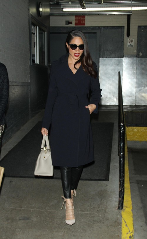03 17, 2016: Meghan Markle at AOL BUILD to talk about USA series Suits in New York. Credit:RW/MediaPunch/IPX