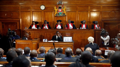 Kenya's supreme court has upheld the reelection of president Uhuru Kenyatta