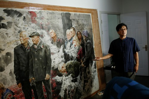 Mine workers, idyllic landscapes, tigers: North Korean artists have made tens of millions of dollars for Pyongyang