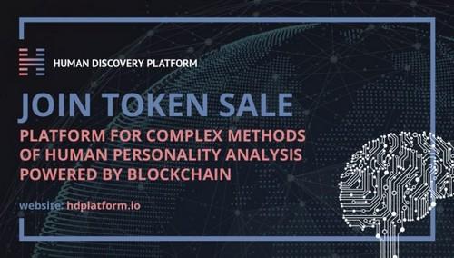 Hdplatform's Human Discovery Token Sale