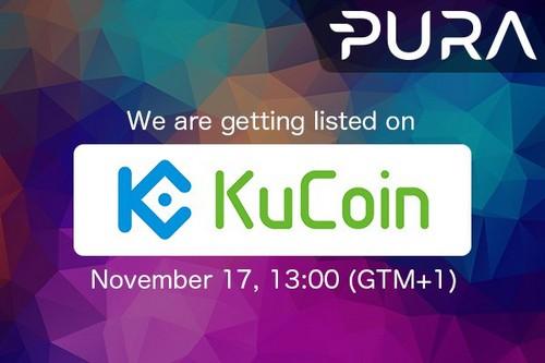 Pura Listing Kucoin Exchange