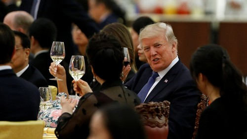 Trump's state dinner in China featured Kung Pao chicken and a $30 Chinese white wine
