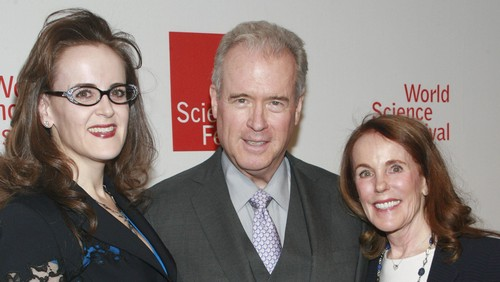 NEW YORK, NY - APRIL 7: (L-R) Rebekah Mercer, Robert Mercer and Diana Mercer attend The 2014 World Science Festival Gala at Jazz at Lincoln Center on April 7, 2014 in New York City. (Photo by Sylvain Gaboury/Patrick McMullan via Getty Images)
