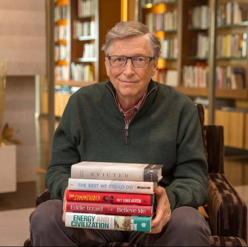 These are the best books Bill Gates read in 2017