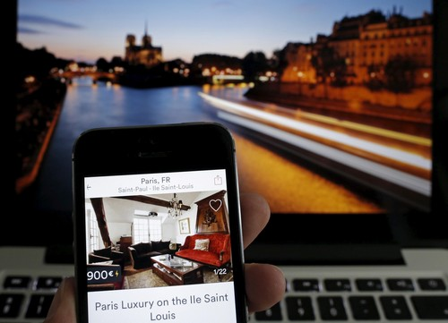 Booking an Airbnb in Paris