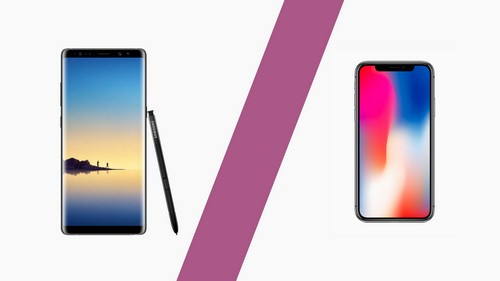 iphone x samsung galaxy note 8 comparison