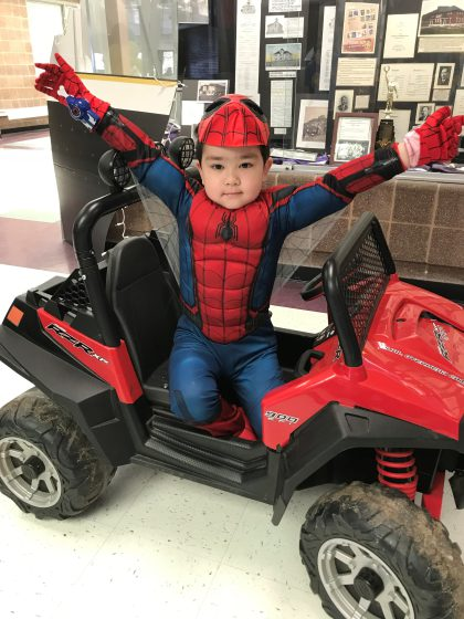 spider man cute e1517268716897 5 Year Old Is Superhero For A Day Thanks To High School Students
