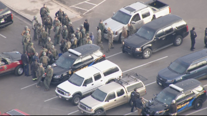 copter shooting 2 7 Shot, 1 Deputy Killed In Highlands Ranch Ambush Shooting