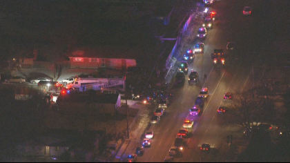 copter 4 wednesday 8p frame 68947 Adams County Deputy Shot, Killed; Two Suspects At Large