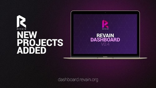 revain dashboard version 4 launched