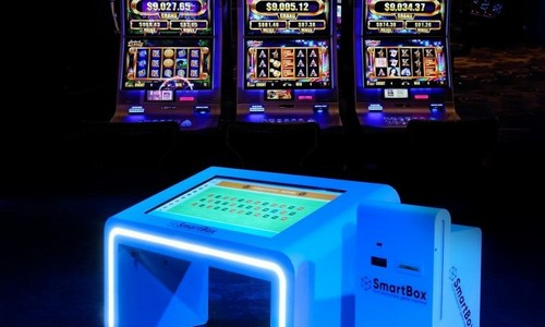 blockchain gambling machine