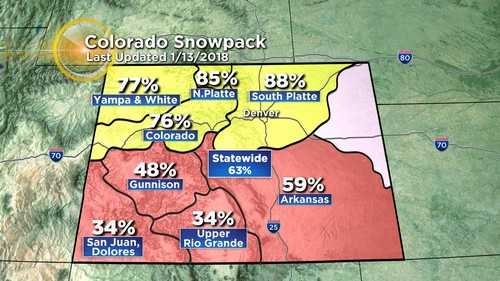 snowpack Latest Forecast: Cold, Snow And Wind To Whip Monday