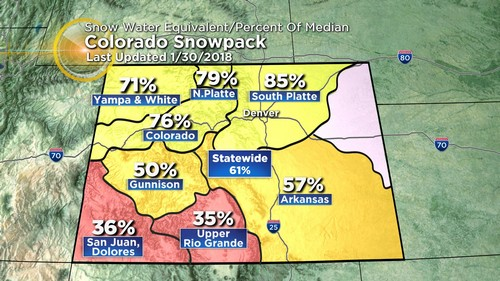 snowpack Latest Forecast: Mild Today, Cooler Tomorrow, Chilly Thursday