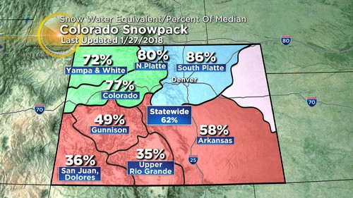 snowpack Latest Forecast: Warming Up Before Cool Down & Potential Snow