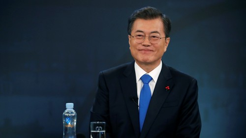 South Korea's president is getting the K-pop idol treatment on his birthday
