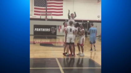 downs syndrome hoops 10vo transfer frame 375 Teenager With Down Syndrome Scores Winning Shot At Rival Game