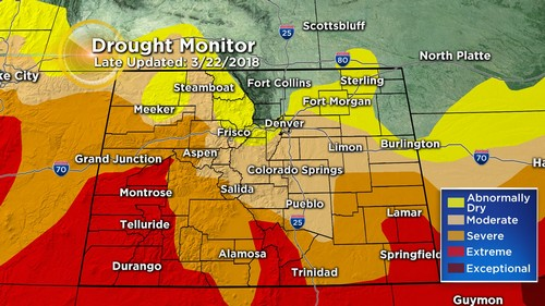 drought monitor Latest Forecast: More Rain & Snow Possible Wednesday