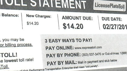 toll charges pkg transfer frame 17401 Toll Authority Admits Incorrect Billing; Issues Apology And Refund