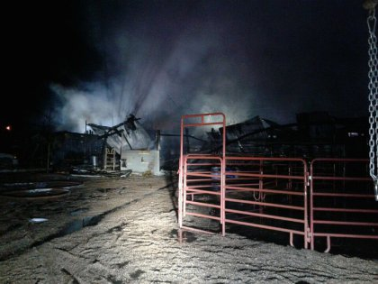 sheridan barn fires 5 west metro fire tweet 6 Horses Killed In Suspicious Early Morning Barn Fire