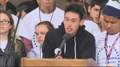 vote for our lives 10pkg frame 111 Hundreds Gather Near Columbine For Voting Rally, Candlelight Vigil