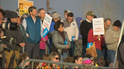 vote for our lives 10pkg frame 1270 Hundreds Gather Near Columbine For Voting Rally, Candlelight Vigil