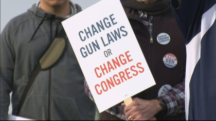 vote for our lives 10pkg frame 1869 Hundreds Gather Near Columbine For Voting Rally, Candlelight Vigil