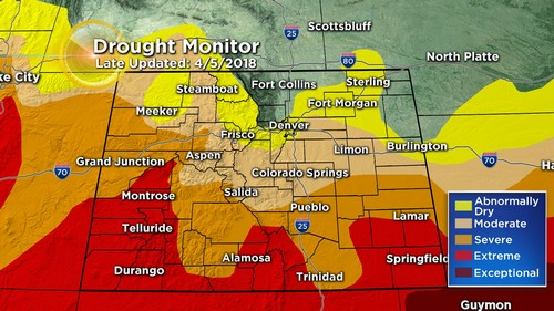 drought monitor Latest Forecast: Major Warm Up, But Gusty Winds