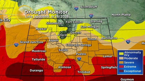 drought monitor Latest Forecast: Warming Up Before Next Moisture Maker