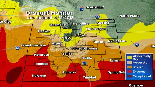 drought monitor Latest Forecast: Winds Calm Down As Storm Moves Away