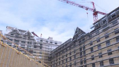 hotel Rescue Underway At Gaylord Construction Project