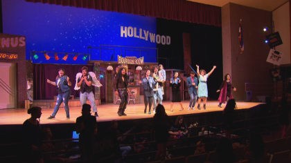 north hs rock of ages 6pkg frame 2426 Schools Need Musicals: Rival Schools Team Up On Stage