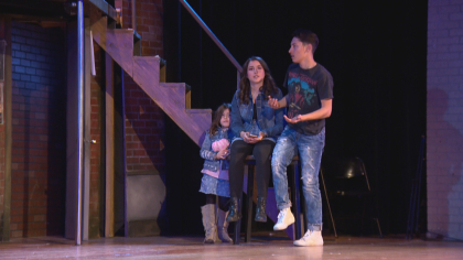 north hs rock of ages 6pkg frame 20 Schools Need Musicals: Rival Schools Team Up On Stage