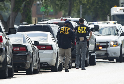 gettyimages 959870578 A Lot Of Gunfire Exchanged Between Texas Shooting Suspect & Police