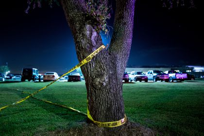 gettyimages 959984764 A Lot Of Gunfire Exchanged Between Texas Shooting Suspect & Police