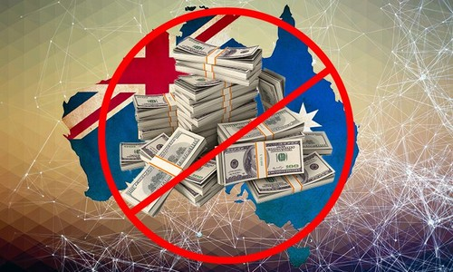 Australia Bans Cash Payments Over $7,500 USD