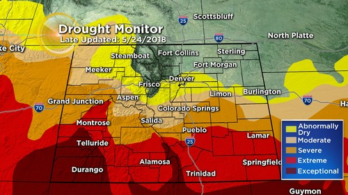 drought monitor Latest Forecast: Changes Underway, Cooler With T Storms By Memorial Day