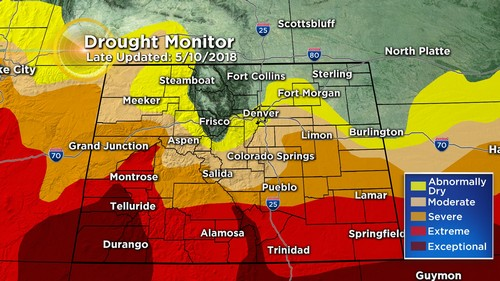 drought monitor Latest Forecast: More Severe Storms Possible