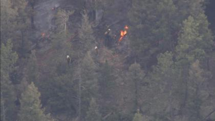 fire11 Eagle Rock Fire Breaks Out Near Conifer, Evacuations Lifted