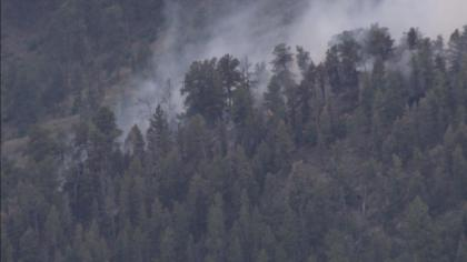 fire21 Eagle Rock Fire Breaks Out Near Conifer, Evacuations Lifted