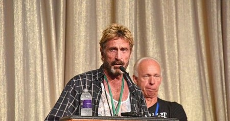 Eccentric ICO Promoter John McAfee Says He's Releasing a Physical Cryptocurrency