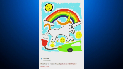 unicorn farts 10pkg frame 1632 Farting Unicorn Sparks Legal Battle Between Local Artist And Elon Musk