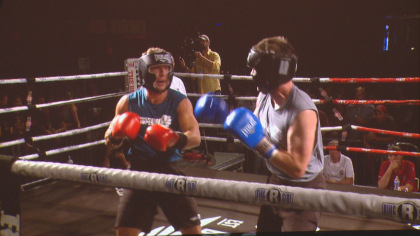 fighting cancer 10pkg frame 556 Group Takes Cancer Fight To The Ring Literally
