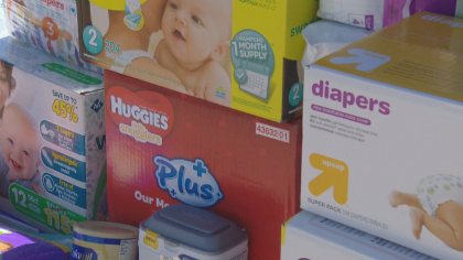 builders essentials drive frame 445 HomeAid Colorado Collects Baby Supplies