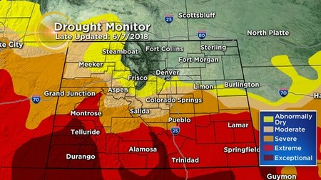 drought monitor Latest Forecast: A Little Relief From The Heat Coming