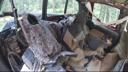 morrison bear 5pkg frame 1868 Bear Gets Stuck Inside Truck, Destroys Interior