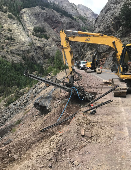 hwy550 recon 2 cdot CDOT Fixing Million Dollar Highway After Flash Flood