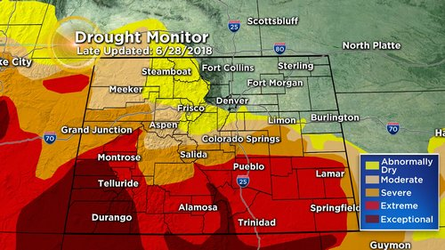 drought monitor Cool And Stormy End To June